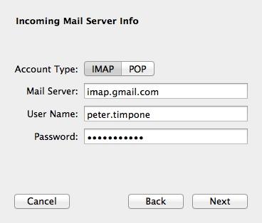 Mac Mail Imap
