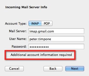 Mac Mail Imap more info
