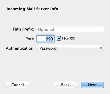 Mac Mail SSL